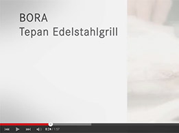 Video - BORA Professional Tepan Kochen