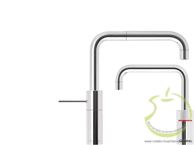 Quooker - Twintaps Nordic Square Chrom